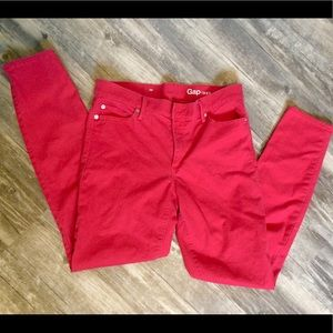 Gap Women's Red Jeans 29r